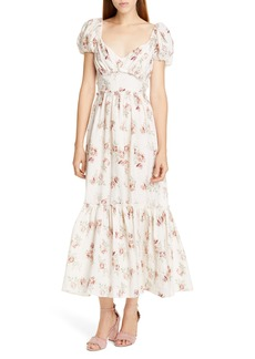 LoveShackFancy Angie Maxi Dress