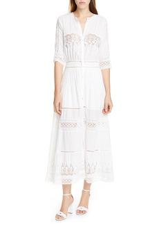 LoveShackFancy Beth Maxi Dress