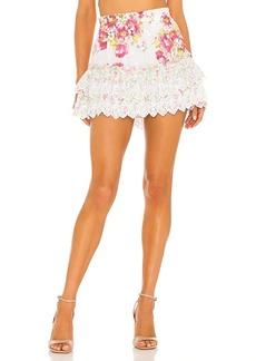 LoveShackFancy Cairo Skirt