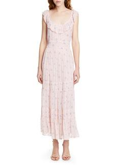 LoveShackFancy Joanne Floral Maxi Dress