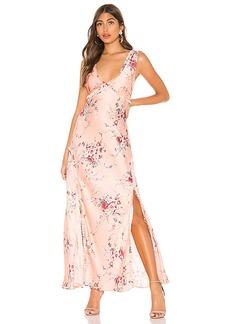 LoveShackFancy Kendall Silk Dress