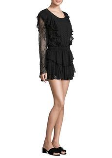 LoveShackFancy Nat Ruffle Lace Dress