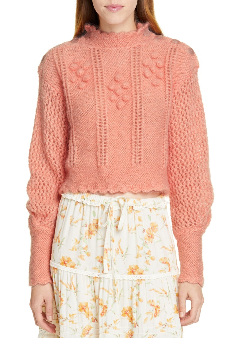 LoveShackFancy Persephone Sweater