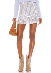 LoveShackFancy Raina Skirt