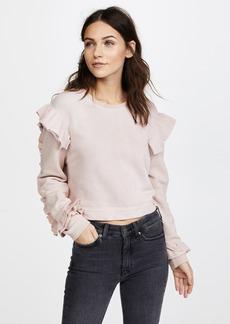LOVESHACKFANCY Ruffle Sweatshirt