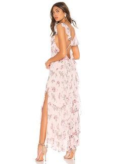 LoveShackFancy Sally Silk Dress