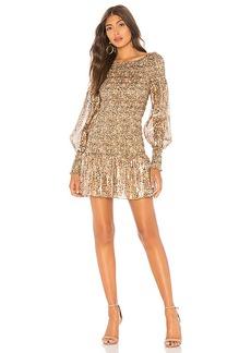 LoveShackFancy Scarlett Mini Dress