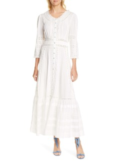 LoveShackFancy Selma Cotton Maxi Dress