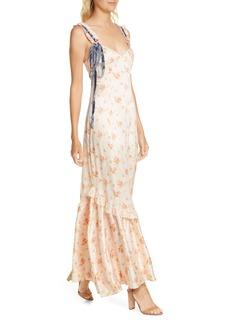 LoveShackFancy Soroya Sleeveless Maxi Dress