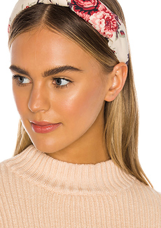 LoveShackFancy x Lele Sadoughi Ruched Headband