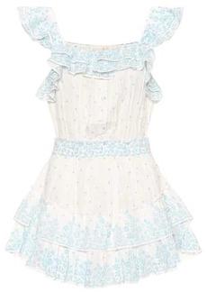 LoveShackFancy Marina printed cotton minidress