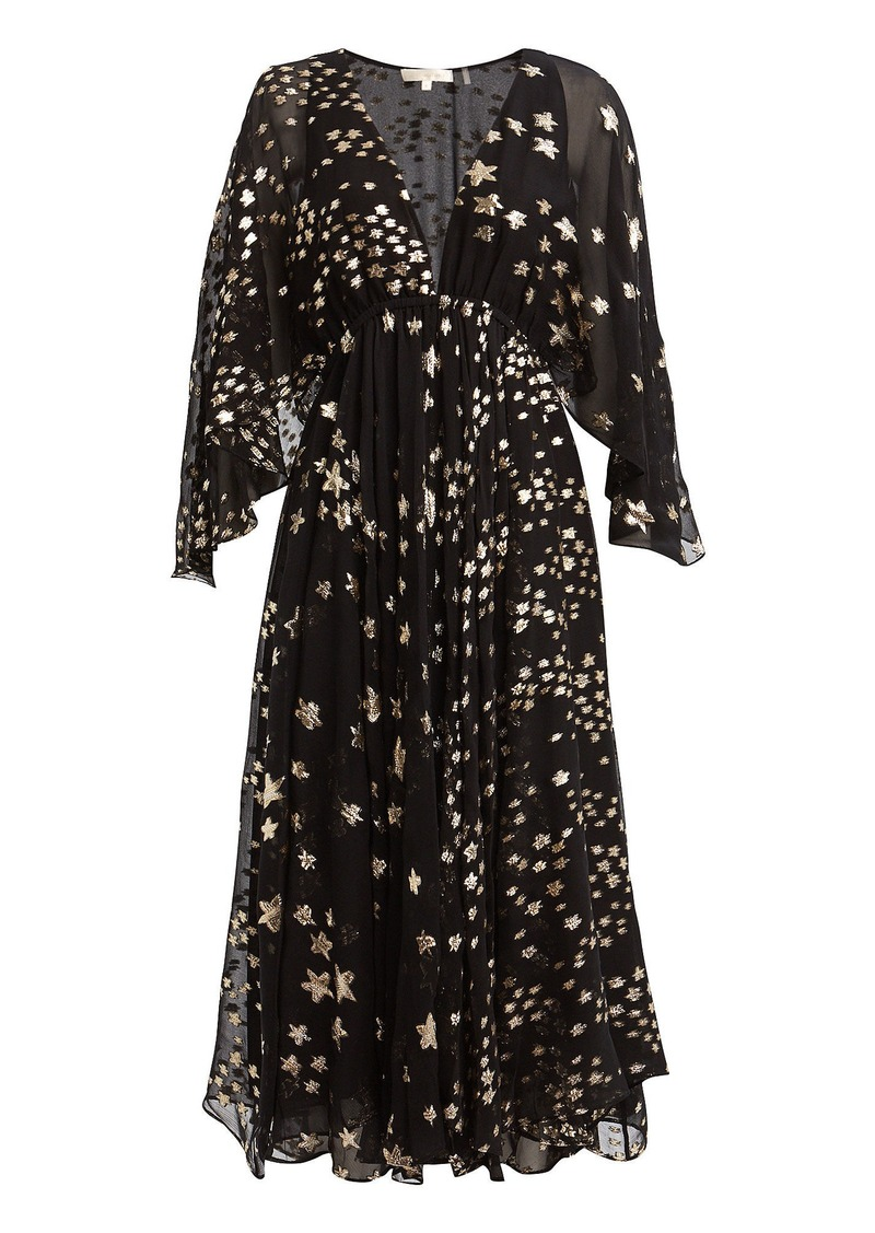 LoveShackFancy Solana Star Fil Coupé Dress