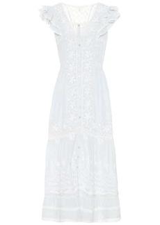LoveShackFancy Valentina cotton dress
