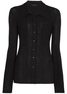 Low Classic long-sleeve knitted shirt