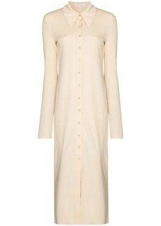 Low Classic long-sleeve midi shirtdress