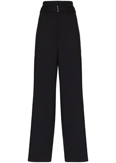 Low Classic paper bag belted trousers