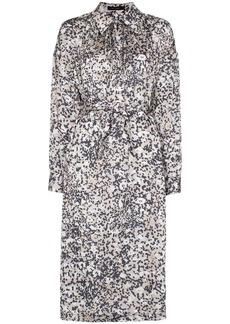 Low Classic printed midi shirt dress