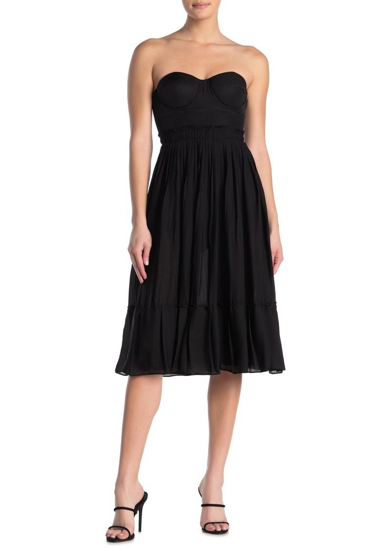LPA 142 Sweetheart Neck Dress