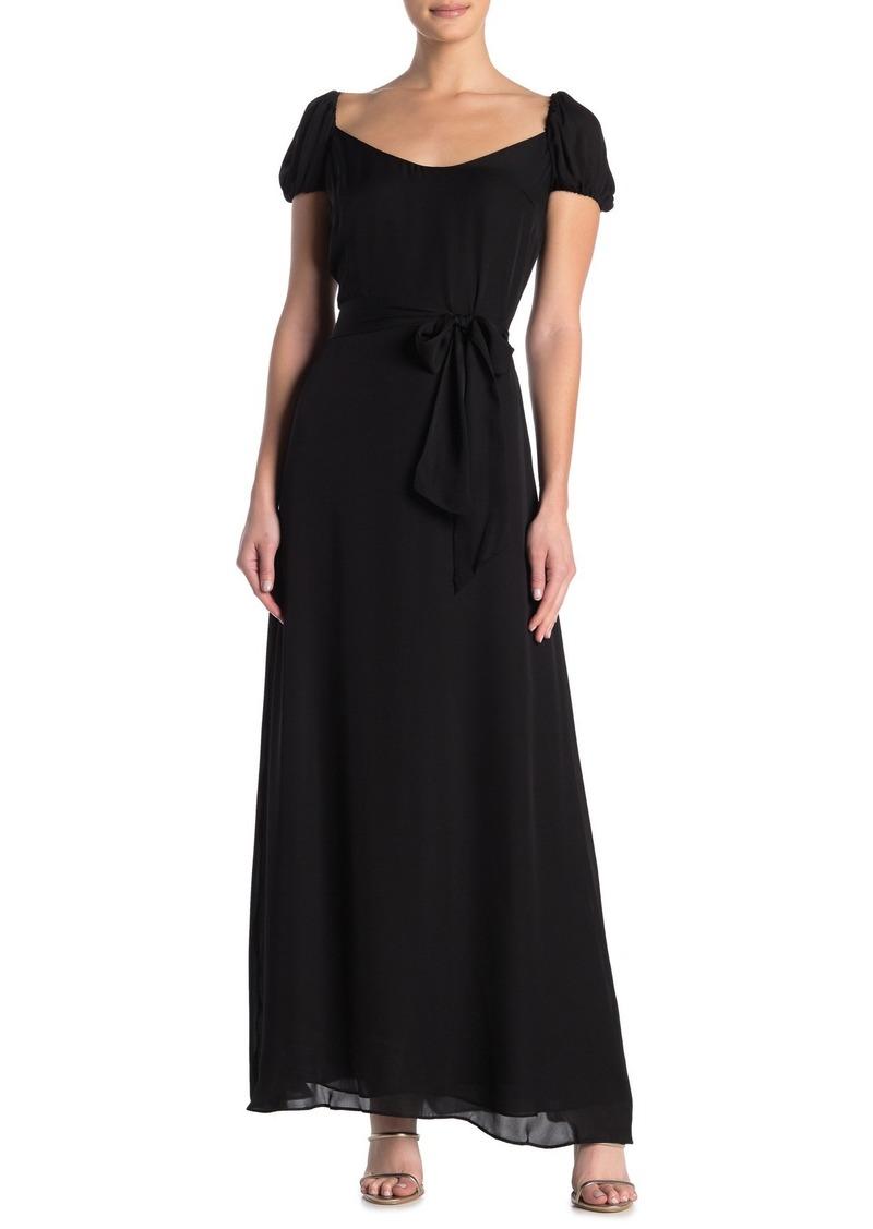 LPA 143 Open Back Silk Dress