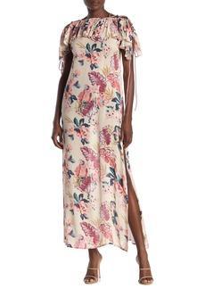 LPA Avery Floral Maxi Dress
