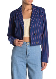 LPA Cropped Double Breasted Jacket