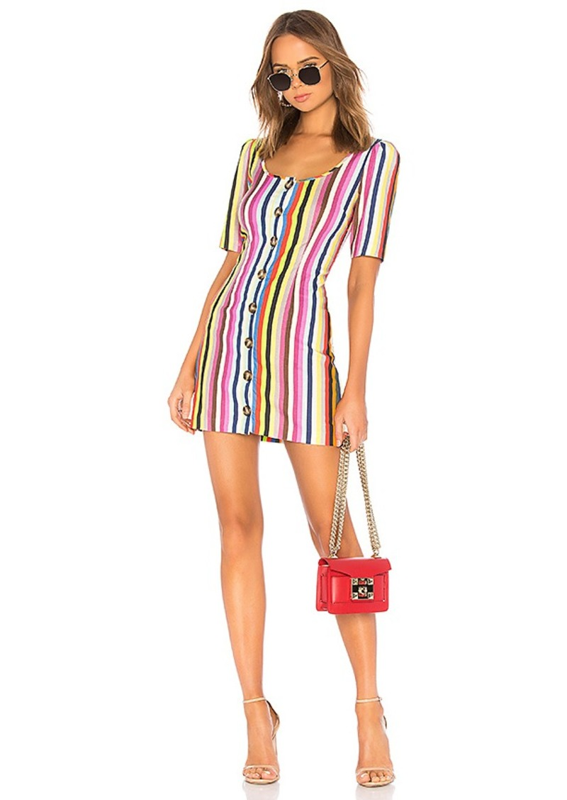 LPA Button Up Mini Dress