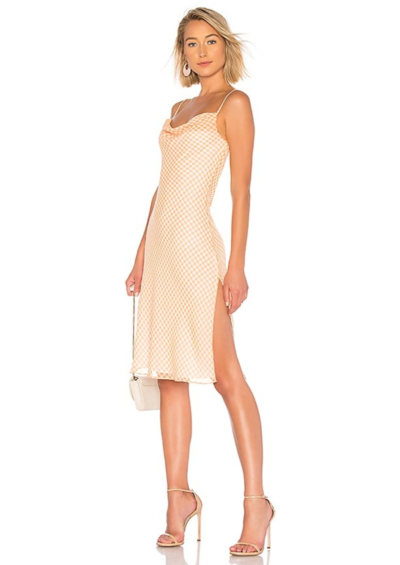 LPA Cowl Neck Dress With Slits