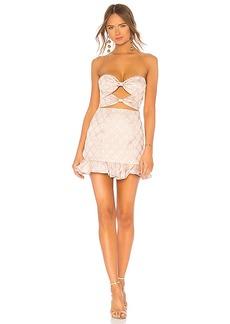 LPA Double Knot Lace Up Dress