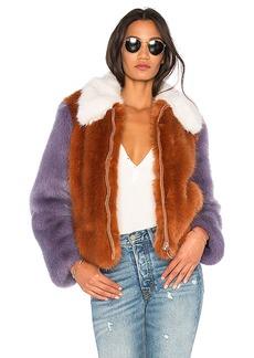 LPA Faux Fur Jacket 413