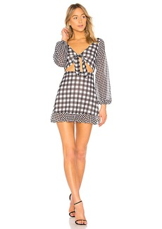 LPA Fit & Flare Mini Dress