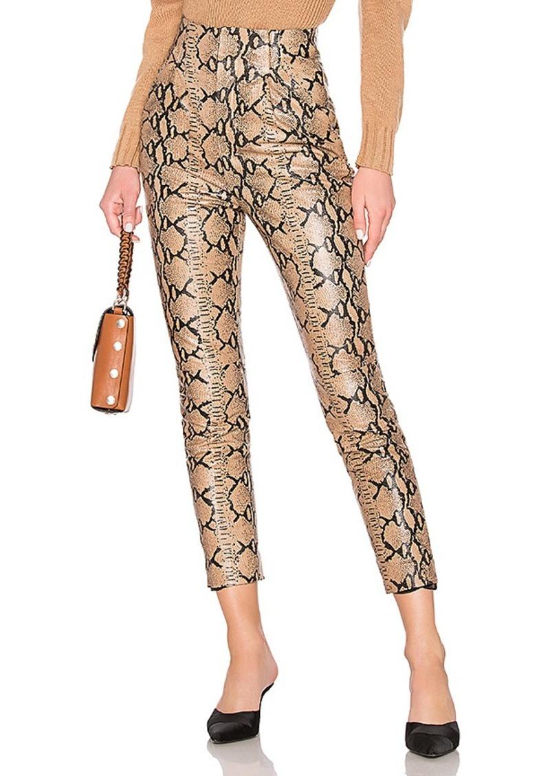 LPA Leather High Waist Pant
