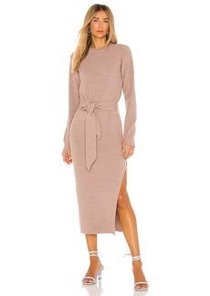 LPA Long Sleeve Ribbed Dress