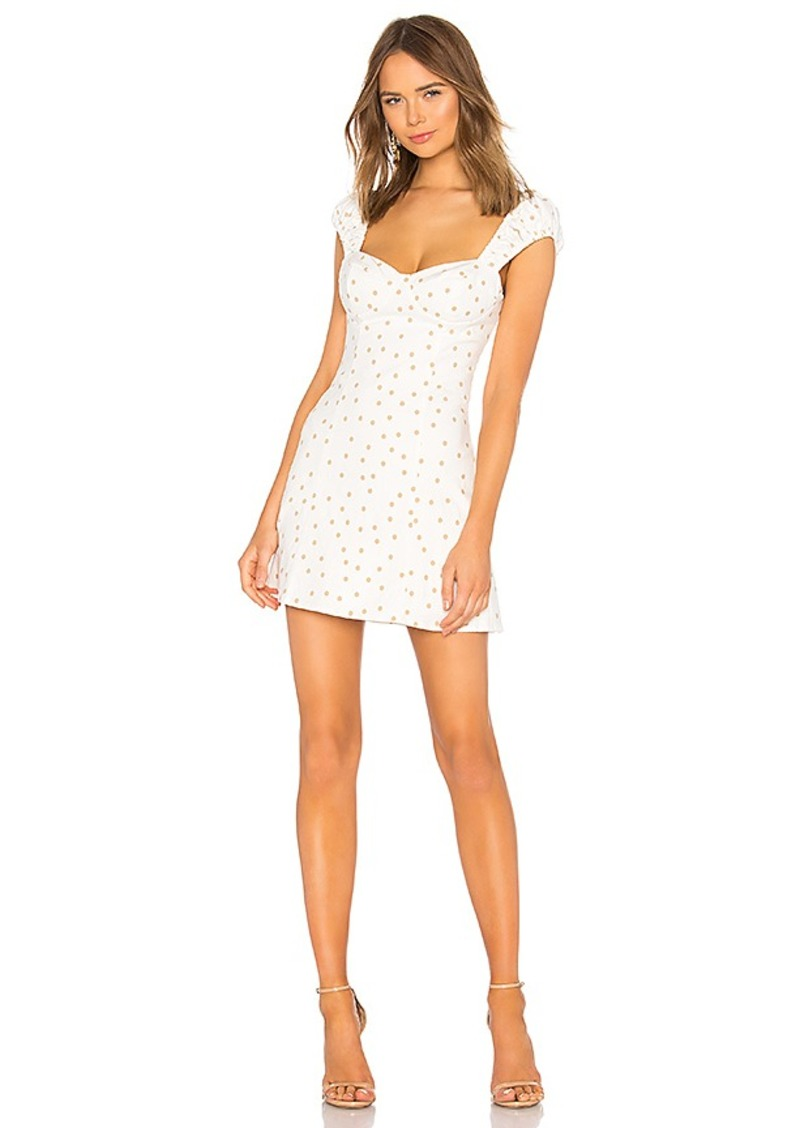 LPA Polka Dot Fit & Flare