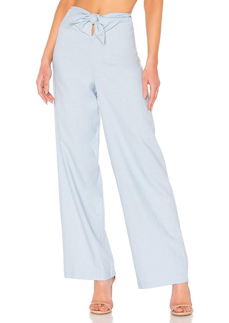 LPA Tie Front Pant
