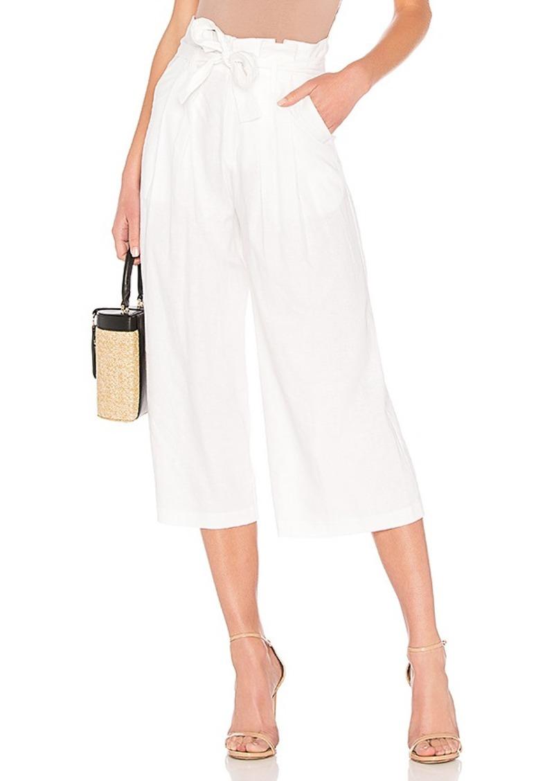 LPA Wide Leg Paperbag Pant