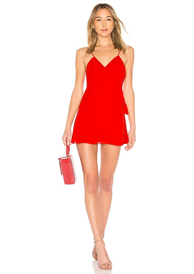 LPA Wrap Mini Dress