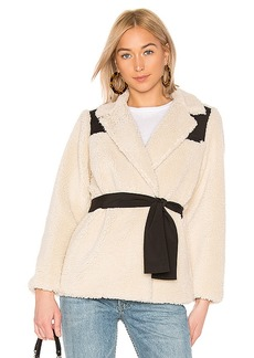 LPA Wrap Sherpa Jacket