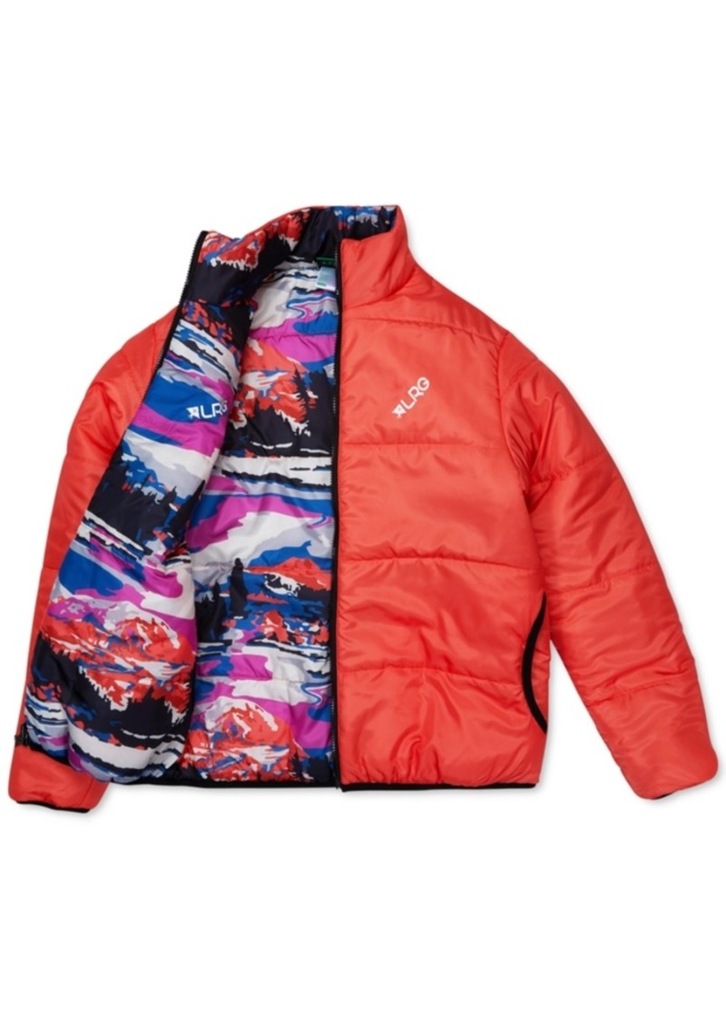 Lrg Men's Alpine Divine Reversible Puffer Jacket