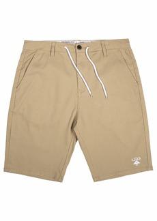LRG Men's Choppa Black Shorts