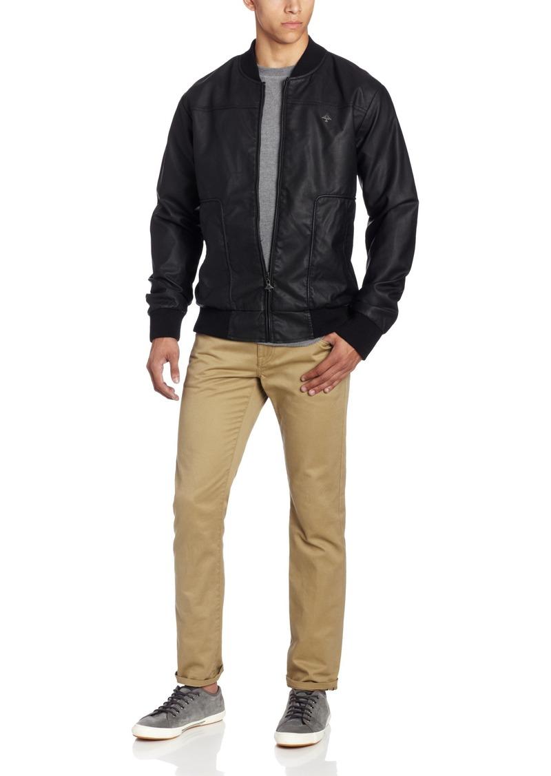LRG Men's Core Collection Faux Leather Jacket
