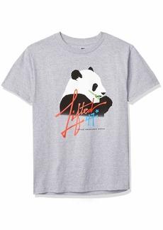 LRG Men's Lifted Research Group Panda Graphic Design T-Shirt  M