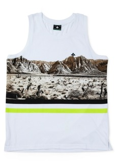 Lrg Men's Desert Cotton Graphic Tank Top