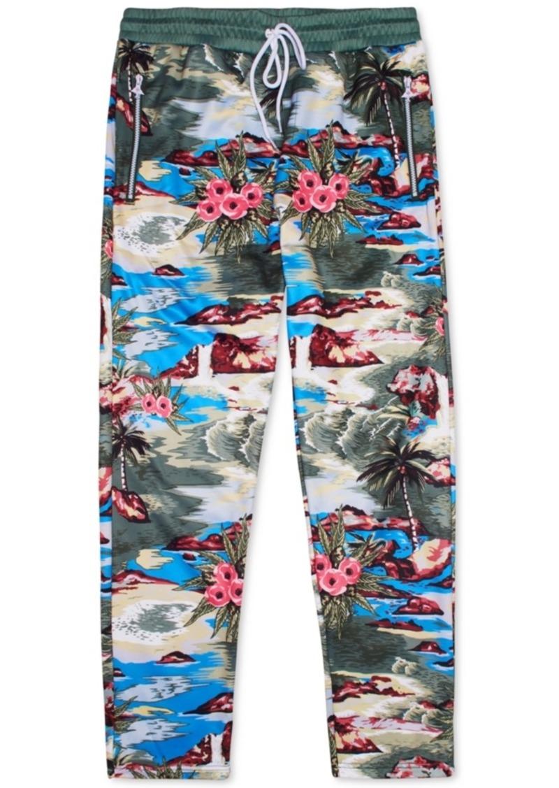 Lrg Men's Hiloha Tropical Pattern Track Pants