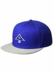 LRG Men's Hustle Trees Logo Flat Bill Snapback Hat