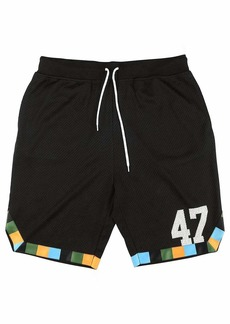 LRG Men's Lifted Research Group Basketball Style Sports Shorts  L