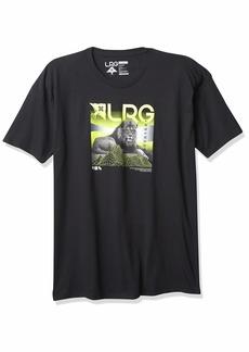 LRG Men's Lifted Research Group Lion Logo T-Shirt  M