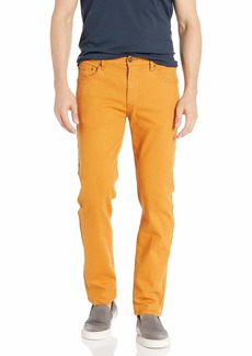 LRG Men's Lifted Research Group Slim Straight Twill Pant Jeans