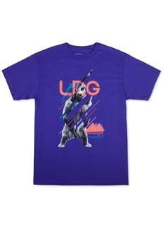 Lrg Men's On The Grizzy Logo Graphic T-Shirt