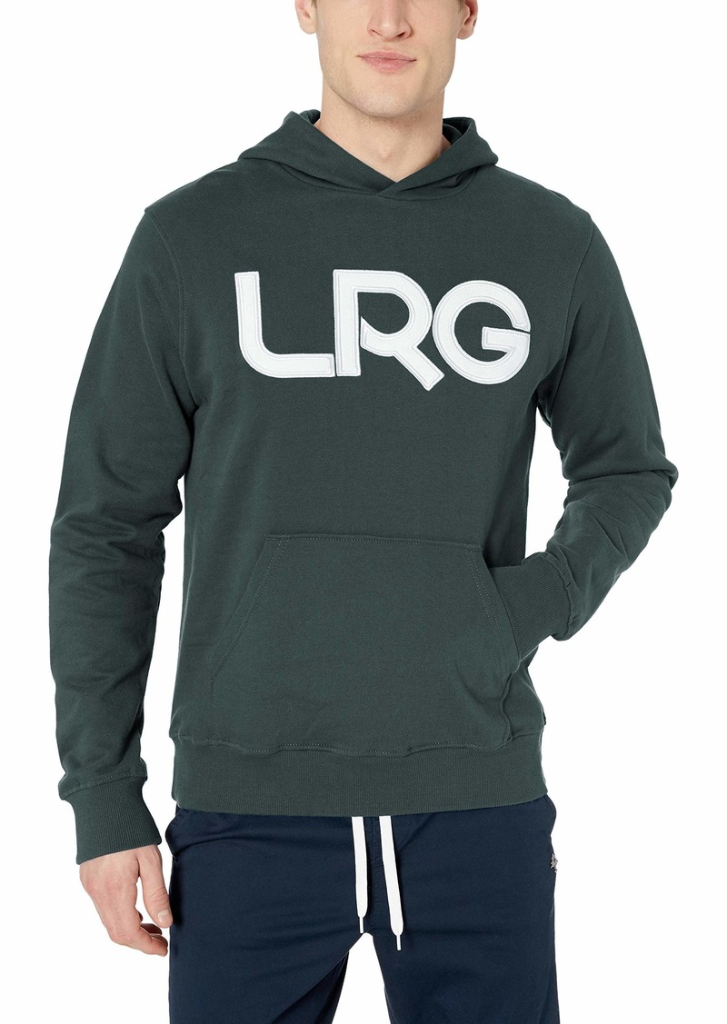 LRG Men's Research Collection Pullover Hoodie Jacket  L