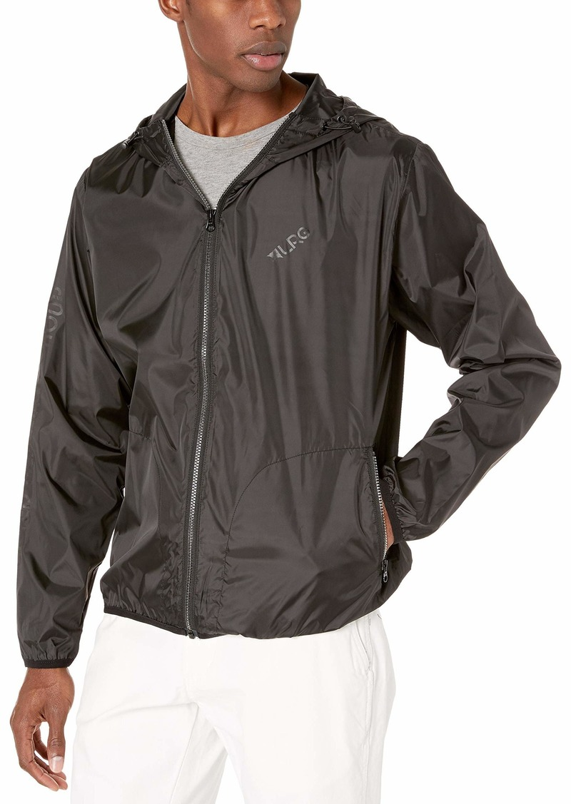 LRG Men's Research Collection Windbreaker Jacket  L